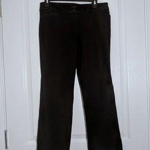 Loft Black Marissa Boot Cut Dress Pants - 4P
